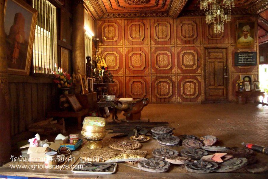 วัดนันตาราม วัดไม้สักทองศิลปะไทยใหญ่ แหล่งท่องเที่ยวเชียงคำ พะเยา